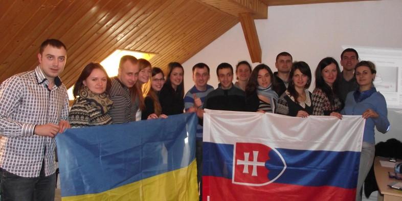 Prezentácia MP2 medzi Ukrajincami