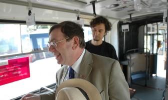 Komisári EHMK v Medzigeneračnom trolejbuse