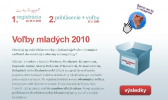 Mladí prejavili nízky záujem o simulované internetové voľby